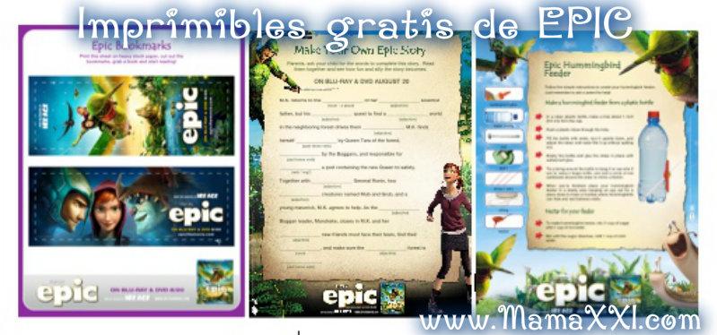 EPIC: Gratis imprimibles para colorear y actividades - Mama XXI