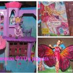 Barbie Mariposa y la Princesa de las Hadas {Sorteo DVD y juguetes}