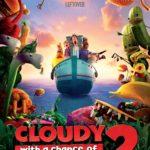 Cloudy with a chance of meatballs 2 {hojas para imprimir y sorteo pases familiares al cine}