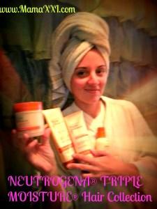 Yo me cuido el pelo con Neutrogena Triple Moisture en 3 sencillos pasos