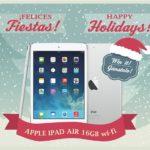 Sorteo de Navidad y blogueras: iPad Air de 16 GB wi-fi