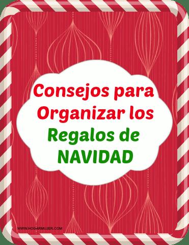 consejos para organizar los regalos navideños