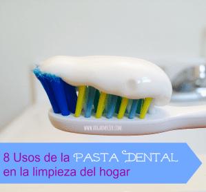 8 usos de la pasta dental en la limpieza del hogar