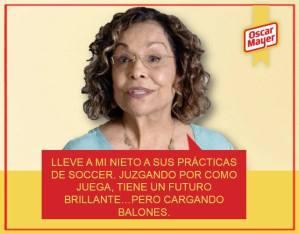 La Abuela Lola de Oscar Mayer Deli Fresh #LolaTalks