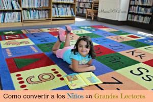 Como convertir a los niños en grandes lectores.