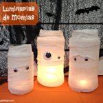 Luminarias de Momia para Halloween