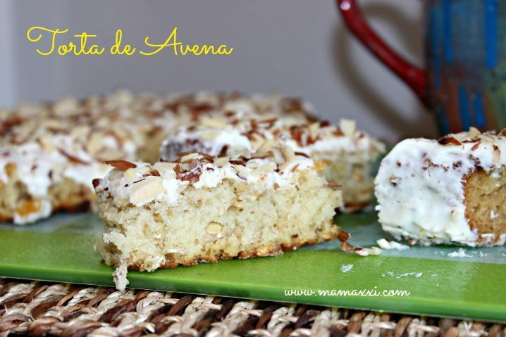 torta de avena
