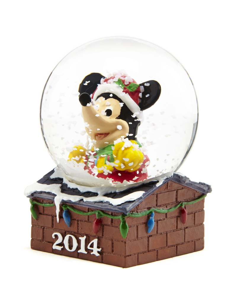 JCPenney 2014 Disney snow globe