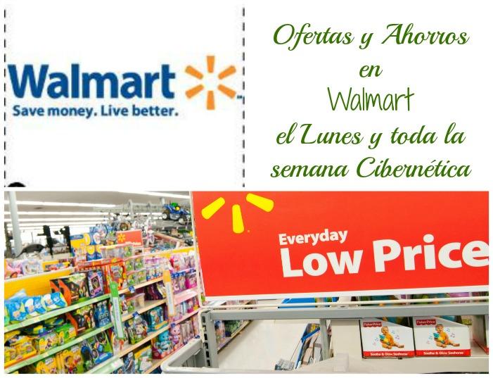 Ofertas y ahorros en Walmart el Cyber Lunes y toda la semana.