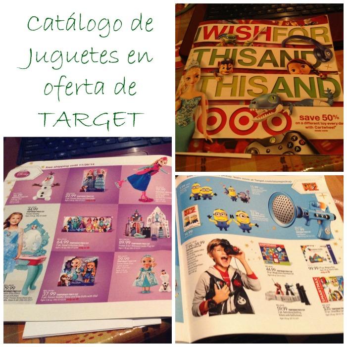 Catálogo de juguetes en oferta en Target