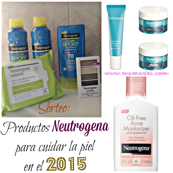 Productos Neutrogena 2015