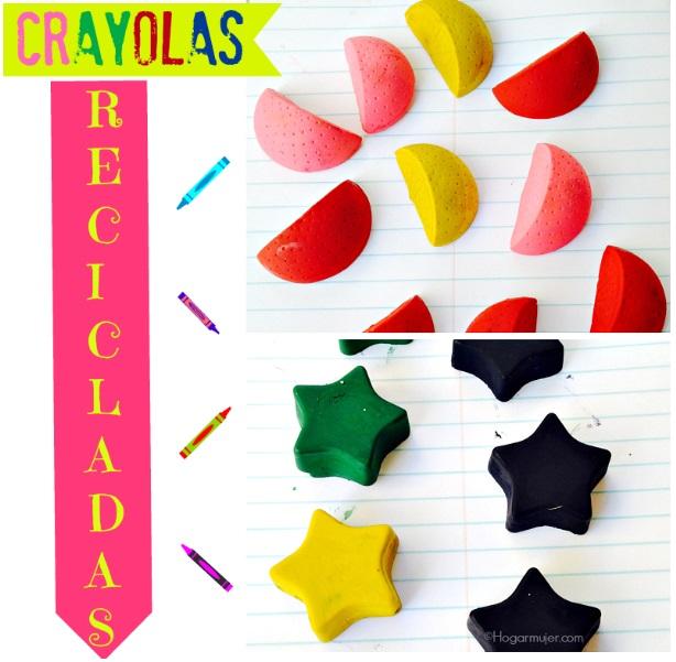 Crayolas Recicladas