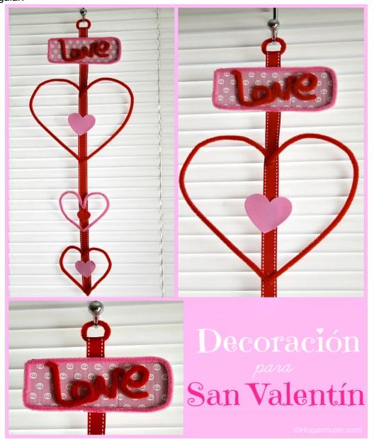 decoración para San Valentín