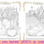 Imprimibles gratis de #Cinderella (y sorteo de viaje a Disney) #DisneySide
