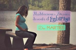 Meditaciones diarias durante el Embarazo: Día Martes