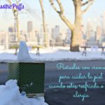 Pañuelitos con crema para cuidar la piel cuando estás resfriada o con alergias #PassThePuffs