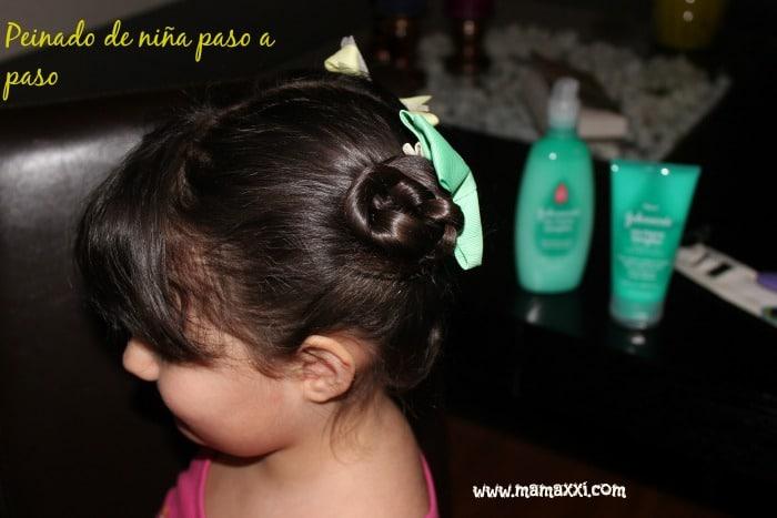 Peinado de niña paso a paso
