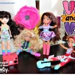 Muñecas inspiradas en la cultura latina Vi and Va {reseña y sorteo}