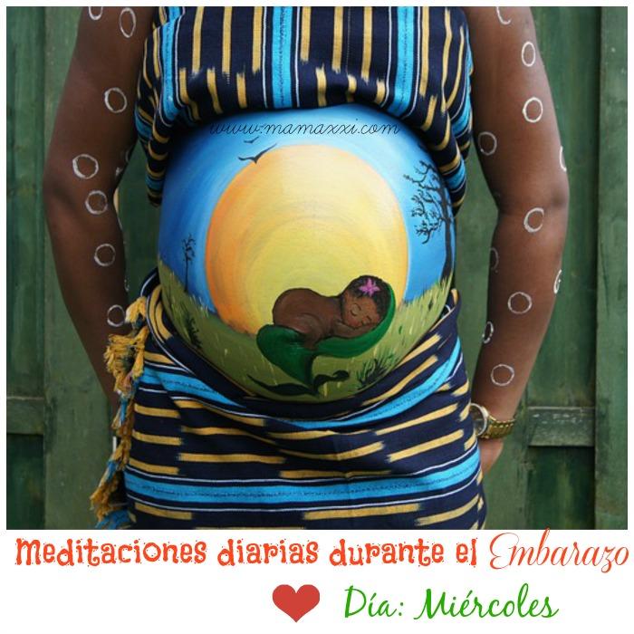 meditaciones diarias embarazo miércoles