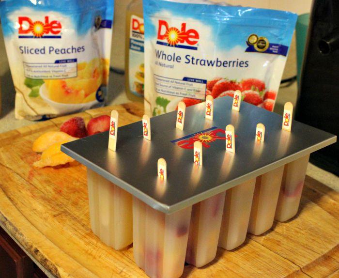 Paletas de Frutas hechas en casa