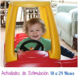 Actividades para estimular a tu bebé de 18 a 24 meses