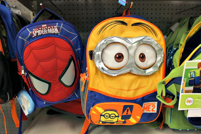 Minion Backpack Target