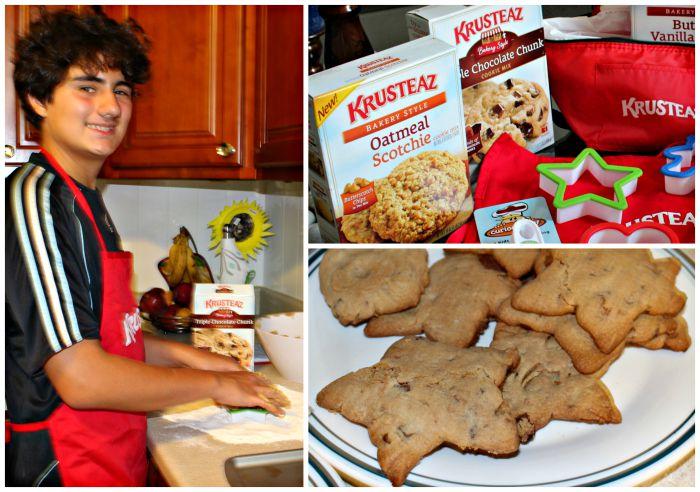 cocinando cookies!