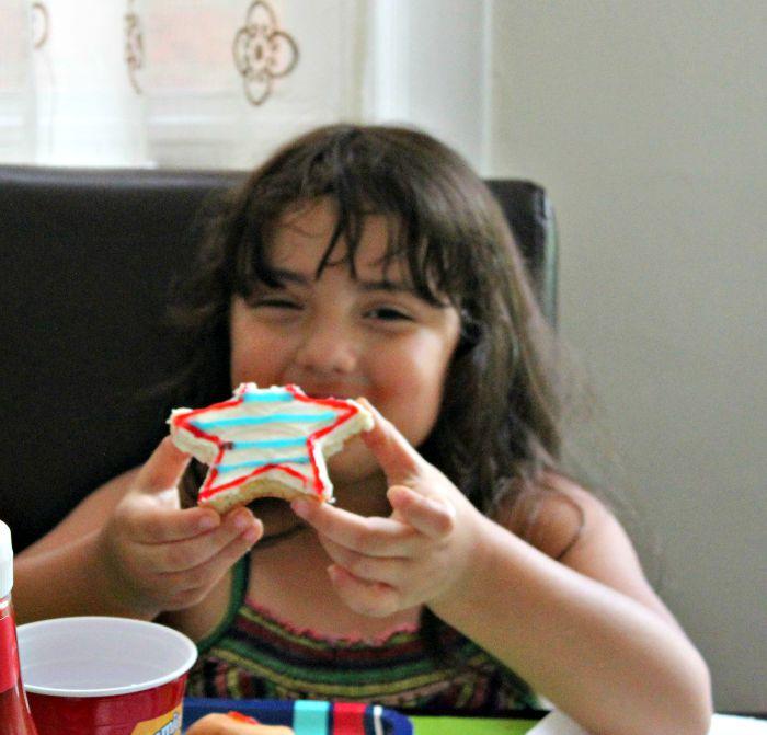 cookies hechas en casa con los niños