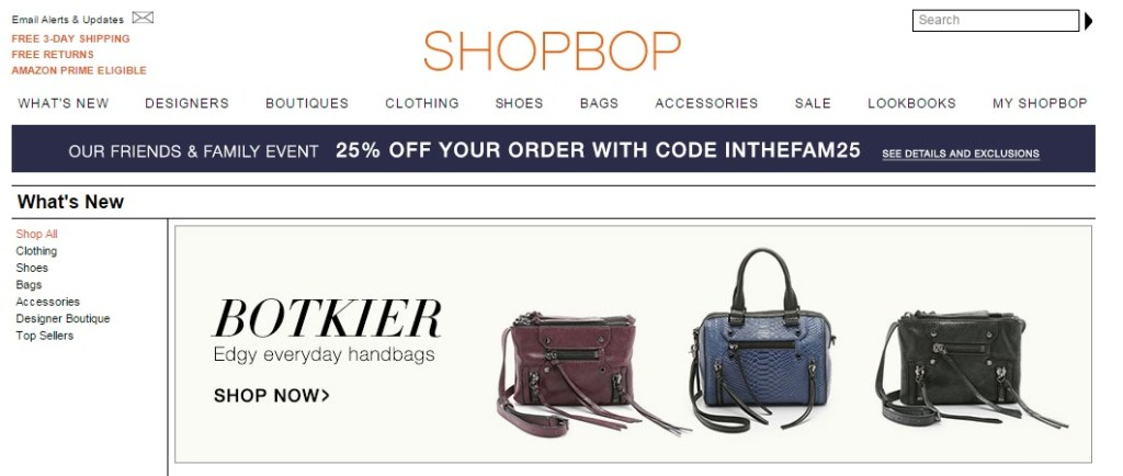 shopbop shop