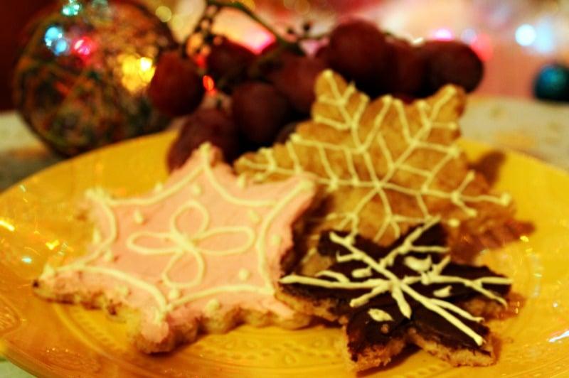 dulces cookies navideñas