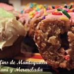 Muffins de Mantequilla de Maní