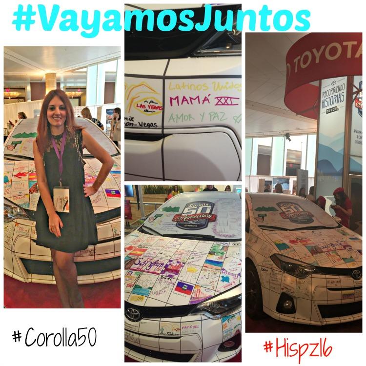 Celebración de los 50 años de Toyota Corolla, en Hispanicize 2016