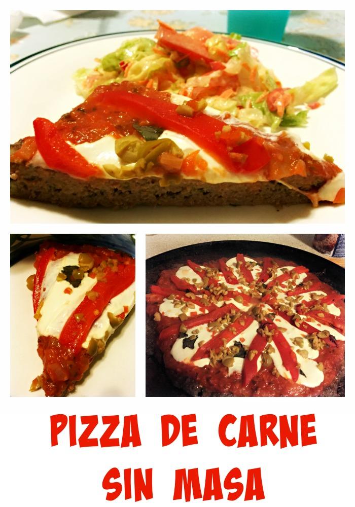 pizza, carne, carne picada, carne molida, receta,