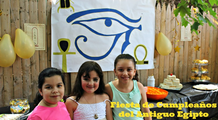 celebración egipcia, fiesta, cumple
