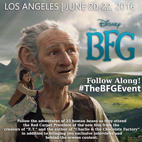 The BFG Red Carpet Bloggers