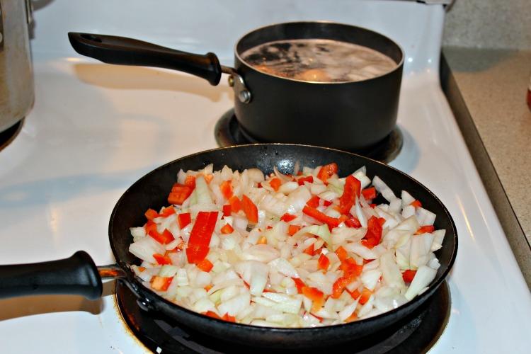 empanadas, morcilla, receta