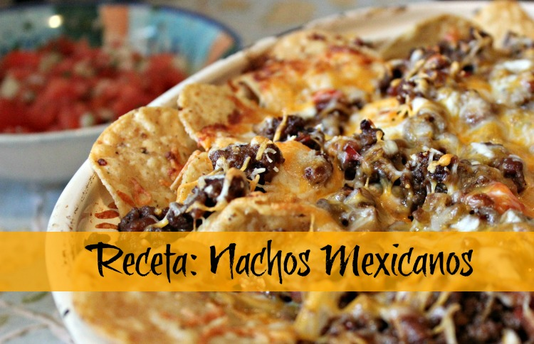 nachos, receta, mexicanos, tortillas