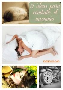 12 ideas para combatir el insomnio