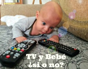TV y bebé ¿sí o no?