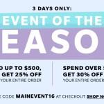 Aprovecha los descuentos de ShopBop