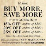 Gran evento de ahorros en ShopBop