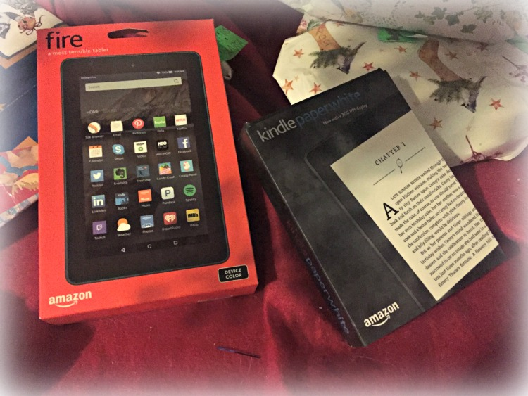 amazon kindle, regalo, navidad, paperwhite, fire, tablet