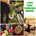 5 consejos para tener más energía