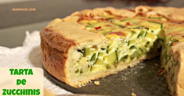 zucchini, ricota, tarta, receta