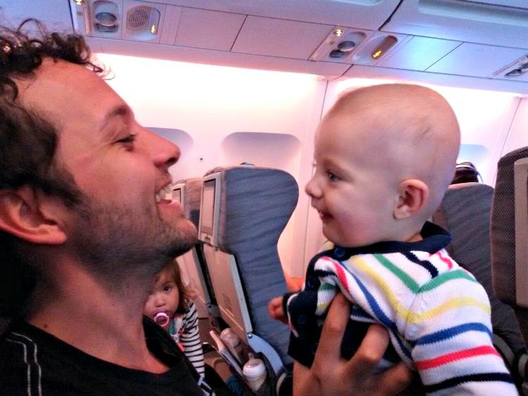 viajar, avión, bebé, viajes, padres, papá