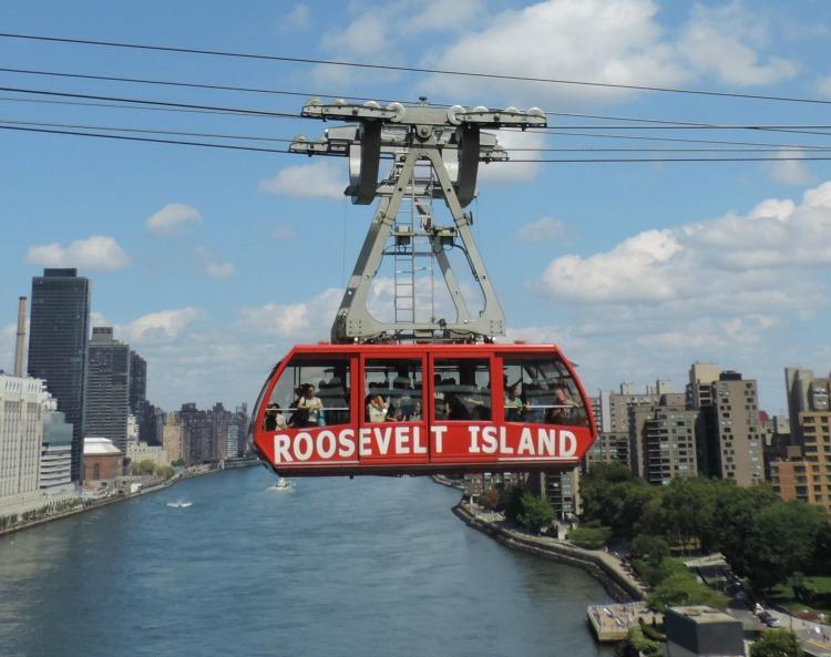 new york, tranvia, isla