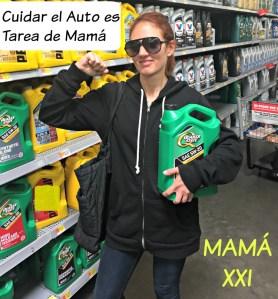 Cuidar el auto es tarea de Mamá