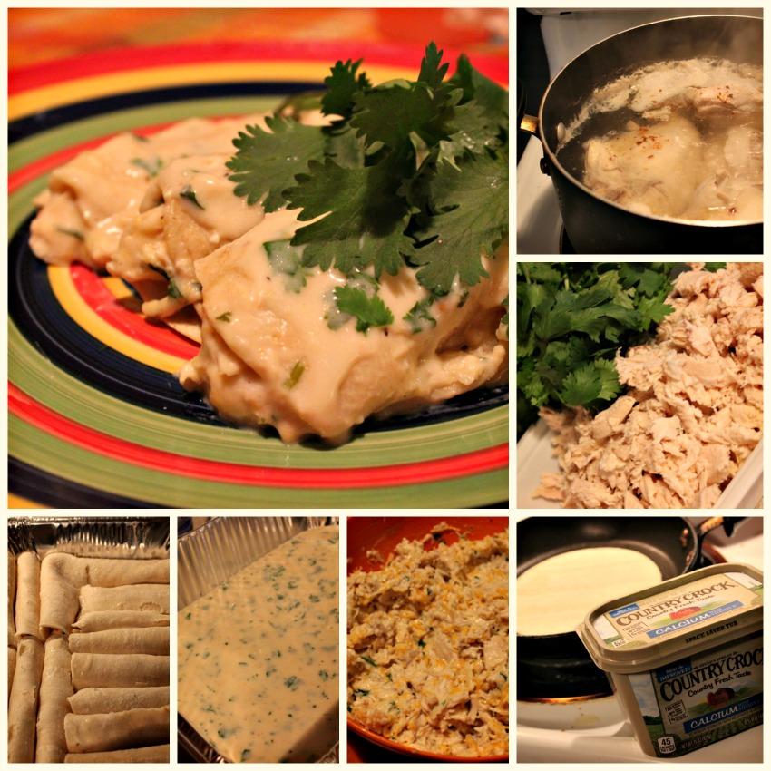 enchiladas, receta, pollo
