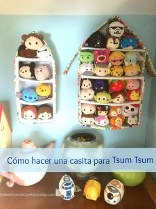 tsum tsum, juguetes, ordenar