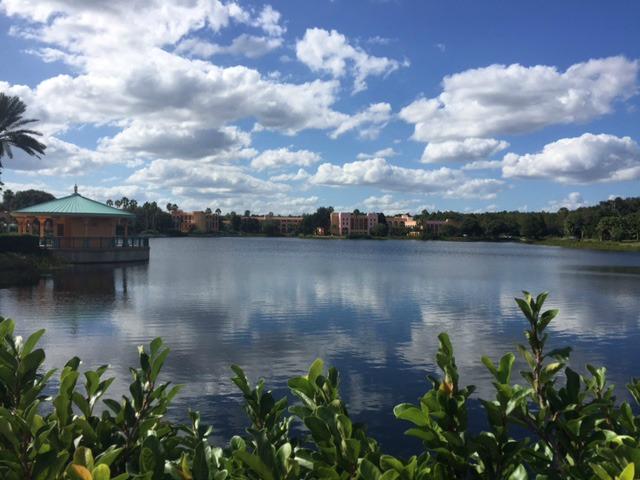 lago, naturaleza, tierra